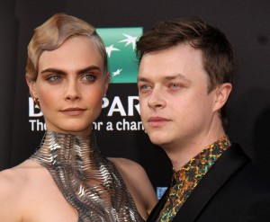 Cara Delevingne and Dane DeHaan Valerian and the City of a Thousand Planets World Premiere Hollywood Los Angeles