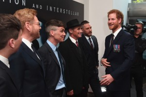 Cast of Dunkirk meet Prince Harry at the world premiere in London, Leicester Square
