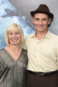 Claire van Kampen and Mark Rylance Dunkirk New York City Premiere