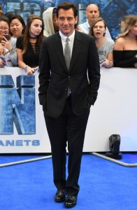 Clive Owen Valerian and the City of a Thousand Planets European Premiere London Leicester Square