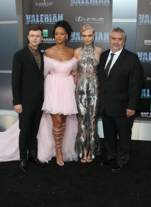 Cast and Director Valerian and the City of a Thousand Planets World Premiere Hollywood Los Angeles