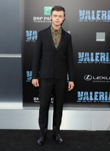 Dane DeHaan Valerian and the City of a Thousand Planets World Premiere Hollywood Los Angeles