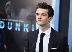 Fionn Whitehead Dunkirk New York City Premiere