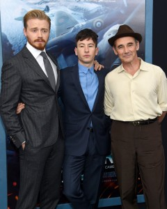 Jack Lowden, Barry Keoghan and Mark Rylance Dunkirk New York City Premiere