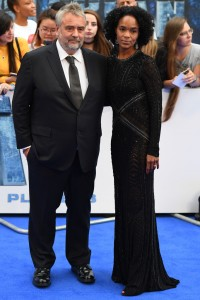 Luc and Virginie Besson Valerian and the City of a Thousand Planets European Premiere London Leicester Square