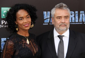 Virginie and Luc Besson Valerian and the City of a Thousand Planets World Premiere Hollywood Los Angeles