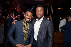 Algee Smith and John Boyega Detroit World Premiere Michigan