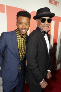 Algee Smith and Larry Cleveland Reed Detroit World Premiere Michigan