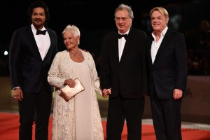 Ali Fazal, Judi Dench, Stephen Frears and Eddie Izzard Victoria & Abdul Premiere 74th Venice Film Festival Jaeger-LeCoultre Glory To The Filmaker Award 2017