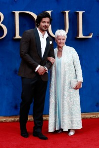 Ali Fazal and Judi Dench Victoria & Abdul UK Premiere London