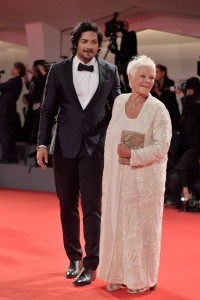 Ali Fazal and Judi Dench Victoria & Abdul Premiere 74th Venice Film Festival Jaeger-LeCoultre Glory To The Filmaker Award 2017