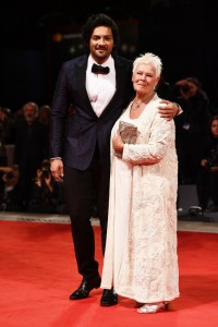 Ali Fazal and Judi DenchVictoria & Abdul Premiere 74th Venice Film Festival Jaeger-LeCoultre Glory To The Filmaker Award 2017