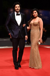 Ali Fazal and Richa Chadha Victoria & Abdul Premiere 74th Venice Film Festival Jaeger-LeCoultre Glory To The Filmaker Award 2017