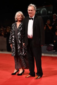 Anne Rothenstein and Stephen Frears Victoria & Abdul Premiere 74th Venice Film Festival Jaeger-LeCoultre Glory To The Filmaker Award 2017