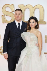 Channing Tatum and Jenna Dewan Kingsman: The Golden Circle World Premiere London Leicester Square