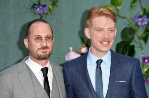 Darren Aronofsky and Domnhall Gleeson Mother! UK Premiere London