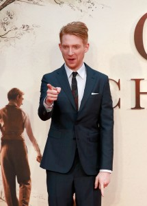 Domhnall Gleeson Goodbye Christopher Robin World Premiere London