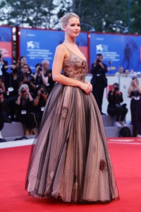 Jennifer Lawrence Mother! Premiere during 74th Venice Film Festival Gala Screening Red Carpet Arrivals