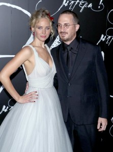 Jennifer Lawrence and Darren Aronofsky Mother! New York Premiere