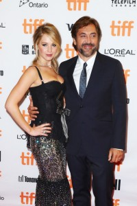 Jennifer Lawrence and Javier Bardem Mother! Premiere during 2017 Toronto International Film Festival, Canada.