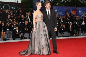 Jennifer Lawrence and Javier Bardem Mother! Premiere during 74th Venice Film Festival Gala Screening Red Carpet Arrivals