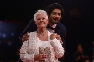Judi Dench and Ali Fazal Victoria & Abdul Premiere 74th Venice Film Festival Jaeger-LeCoultre Glory To The Filmaker Award 2017