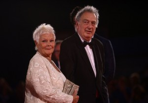 Judi Dench and Stephen Frears Victoria & Abdul Premiere 74th Venice Film Festival Jaeger-LeCoultre Glory To The Filmaker Award 2017