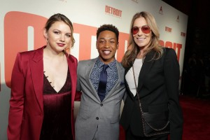 Kaitlyn Dever, Jacob Latimore and Kathryn Bigelow Detroit World Premiere Michigan