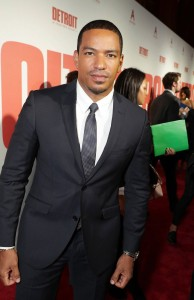 Laz Alonso Detroit World Premiere Michigan