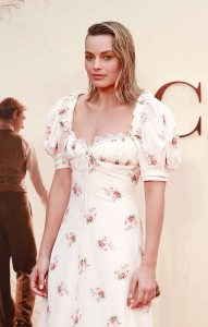 Margot Robbie Goodbye Christopher Robin World Premiere London