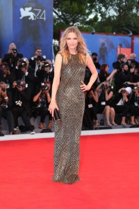 Michelle Pfeiffer Mother! Premiere during 74th Venice Film Festival Gala Screening Red Carpet Arrivals