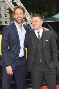Reid Carolin and Channing Tatum Logan Lucky UK Premiere London