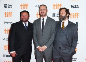 Scott Franklin, Darren Aronofsky and Ari Handel Mother! Premiere during 2017 Toronto International Film Festival, Canada.