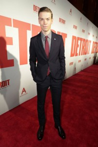 Will Poulter Detroit World Premiere Michigan