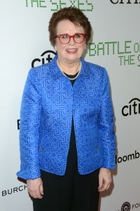 Billie Jean King Battle of the Sexes New York Premiere