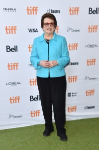 Billie Jean King Battle of the Sexes Premiere 2017 Toronto International Film Festival