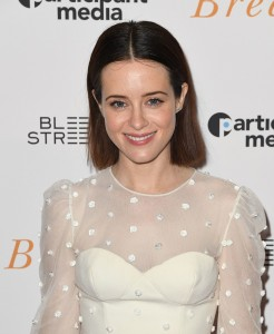 Claire Foy Breathe New York Special Screening