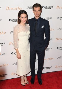 Claire Foy and Andrew Garfield Breathe New York Special Screening