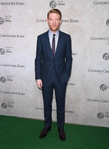 Domhnall Gleeson Goodbye Christopher Robin New York City Special Screening