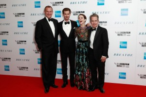 Hugh Bonneville, Andrew Garfield, Claire Foy and Tom Hollander