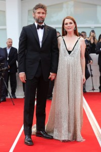 Julianne Moore and Bart Freundlich Suburbicon Premiere during 74th Venice International Film Festival