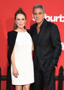 Julianne Moore and George Clooney Suburbicon Los Angeles Premiere
