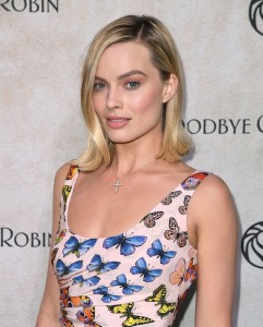 Margot Robbie Goodbye Christopher Robin New York City Special Screening