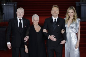 Derek Jacobi, Judi Dench, Kenneth Branagh and Michelle Pfeiffer Murder on the Orient Express World Premiere London