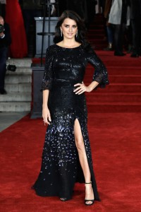 Penelope Cruz Murder on the Orient Express World Premiere London