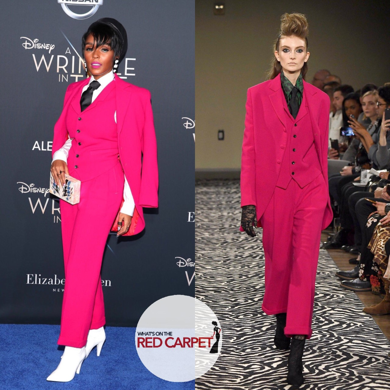 Janelle Monae Wolk Morais A Wrinkle in Time Los Angeles Premiere Fashion Style