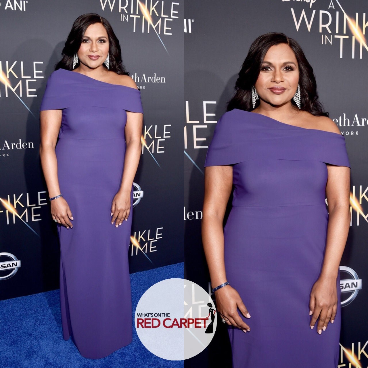 mindy kaling greta Constantine a wrinkle in time Los Angeles premiere fashion style.