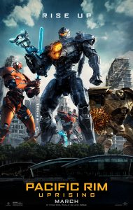 Pacific Rim Uprising Official Movie Poster