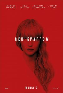 Red Sparrow Official Movie Poster