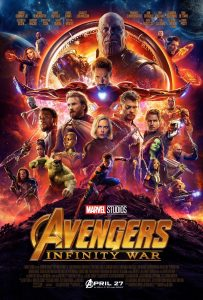 Avengers Infinity War Official Movie Poster